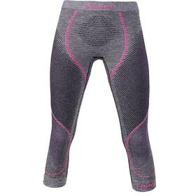 UYN Ambityon Melange UW Medium Pants Damen black melange/purple/raspberry